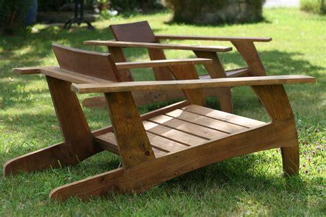 plan chaise de jardin en bois chaise en bois de palette design ée 30 chaises en