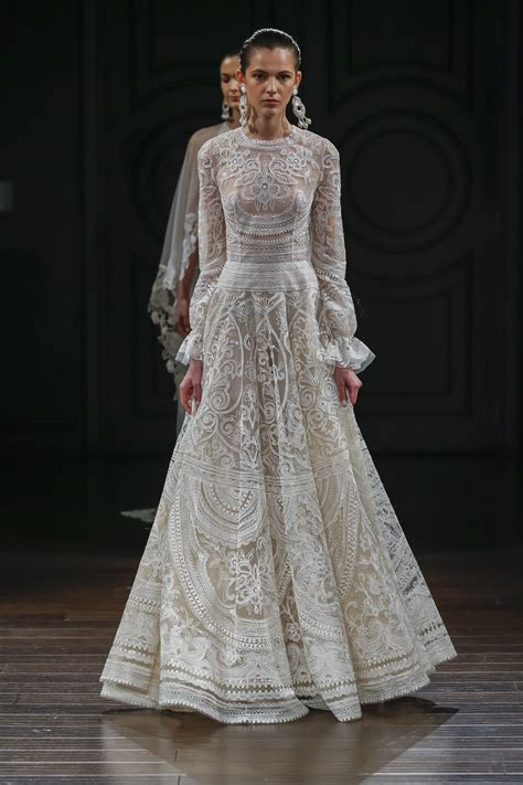 wedding and new year dress collection 2016 2017 manjaree 15 sleeve wedding dresses for 2017
