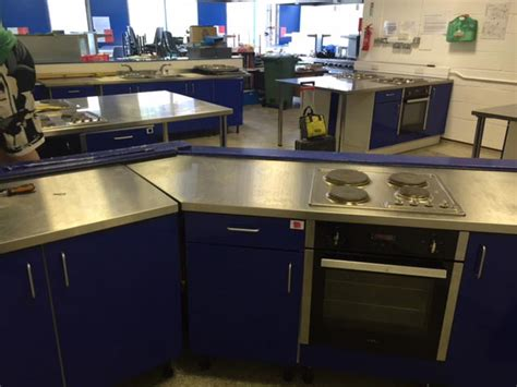 installing domestic kitchen equipment  commercial environment tower commercial catering