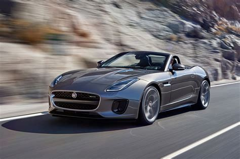 Refreshed 2018 Jaguar Ftype Gains 296hp Turbo 20l