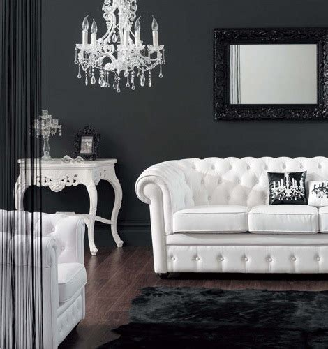 poltrona canapé 21 black and white traditional living rooms digsdigs