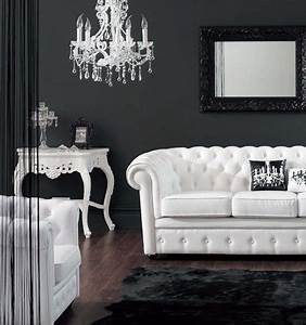 21 Black And White Traditional Living Rooms