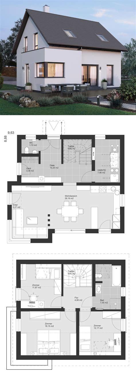 Kleines Einfamilienhaus Grundriss by Kleines Einfamilienhaus Architektur Modern Grundriss Mit