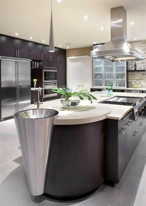 cuisine design avec ilot central cuisine avec ilot central arrondi maison design bahbe com