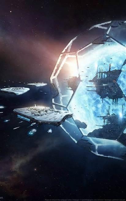 Stellaris Utopia Mobile 4k Wallpapers Chaliya Gamer