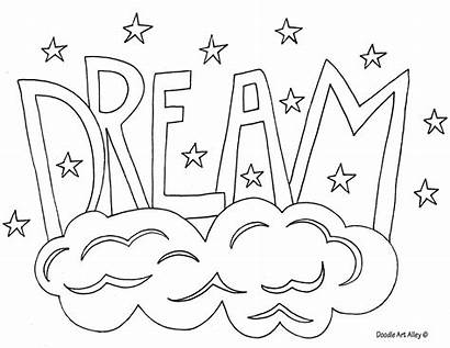 Coloring Word Doodle Alley Dream