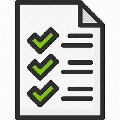 Document Check Icon Doc Mark Test Editor