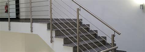 treppengelaender aus edelstahl nappenfeld edelstahl