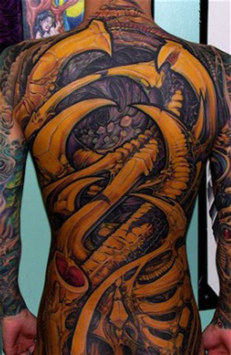 biomechanical tattoo images designs