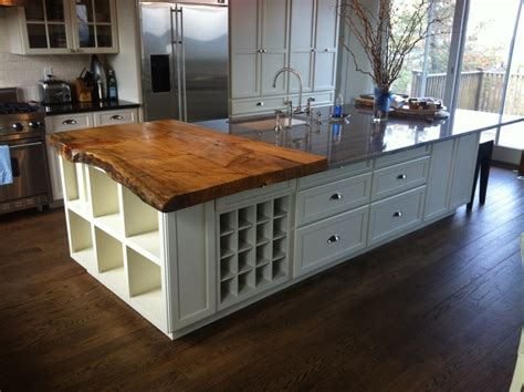 wood slab kitchen island excellent kitchen countertop ideas on a budget with solid 1603