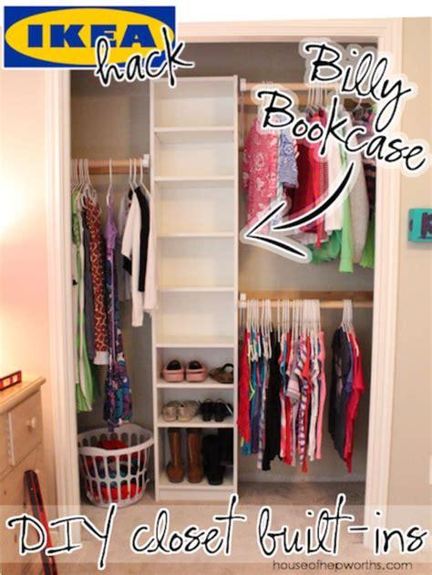 Built In Closet Organization Ideas by 35 Best Diy Closet Organizing Ideas