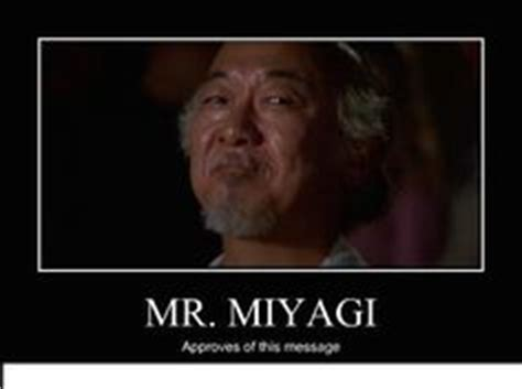 Mr Miyagi Meme - 1000 images about funny on pinterest it crowd funny pictures and fawlty towers