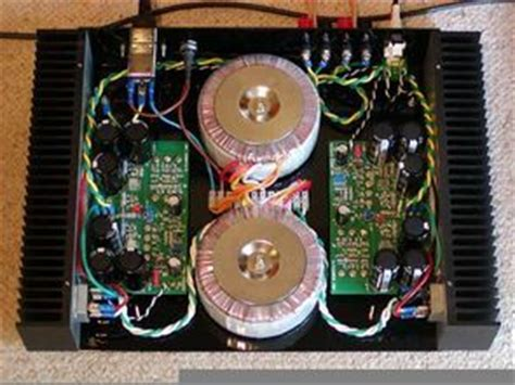 hifi power amplifier electronics projects circuits