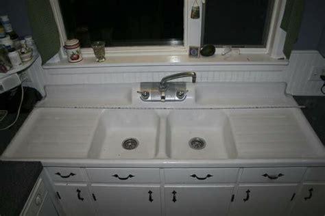 150+ Vintage Drainboard Kitchen Sinks  Original Finish