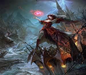 Female Vampire Sorceress