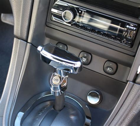1987 04 ford mustang chrome billet t handle automatic shift knob ebay