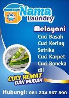 contoh brosur laundry ukuran  tips mendesain