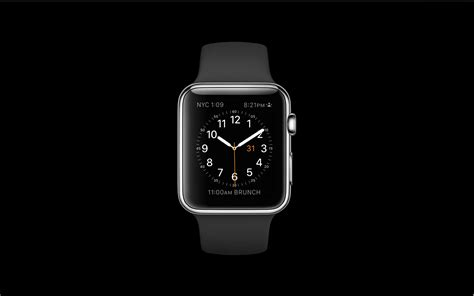苹果表盘创意壁纸,静静表盘,苹果手表表盘壁纸_大山谷图库