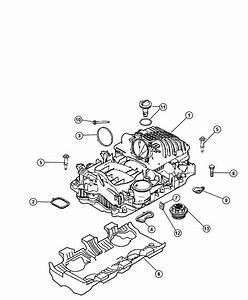 2005 Dodge Magnum R  T 5 7l Hemi V8 Valve  Crankcase Vent