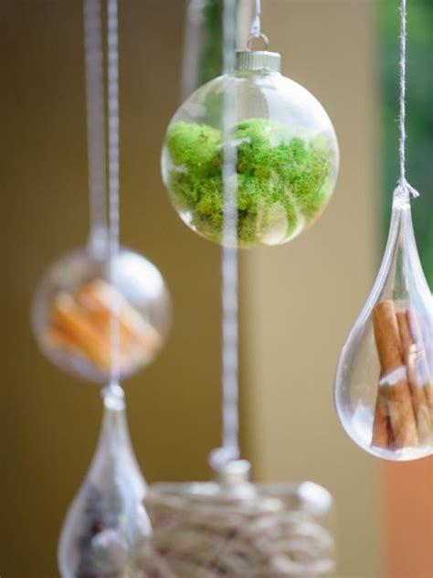 glass ornament filler ideas hgtv