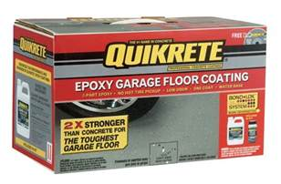 epoxy garage floor quikrete epoxy garage floor paint