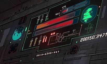 Sci Fi Cyberpunk Ui Aesthetic Anime Retro