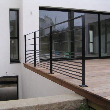 garde corps pour terrasse exterieur garde corps d ext 233 rieur en m 233 tal 224 barreaux pour terrasse cabourg escalier design 14