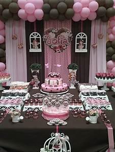 Decoration Anniversaire Fille : d couvrir la d coration de table anniversaire en 50 images ~ Teatrodelosmanantiales.com Idées de Décoration