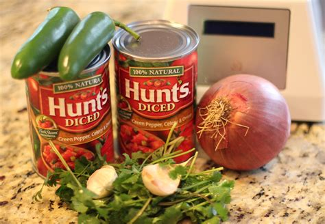 To make the best and easiest tomato salsa from scratch, first prepare the produce: How To Make Homemade Salsa from Canned Tomatoes