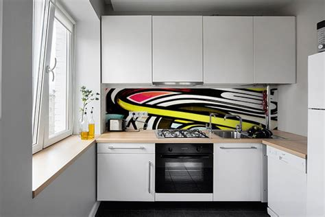 credence autocollant cuisine crédence cuisine moderne oeil graff izoa