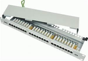 Powermax 1u 24p Cat 6 Ftp Patch Panel