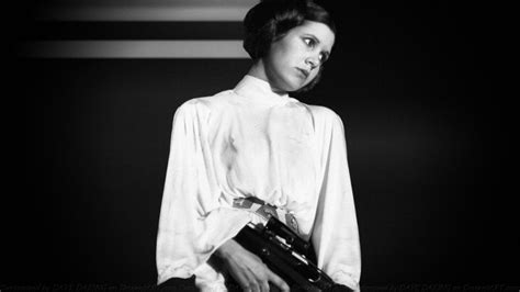 Carrie Fisher Princess Leia Xxvii By Dave Daring On Deviantart