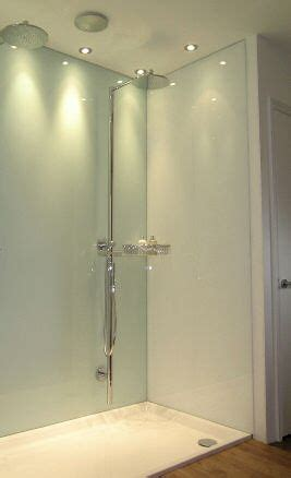 bathroom panels instead of tiles shower walls glass panels and glasses on 22282