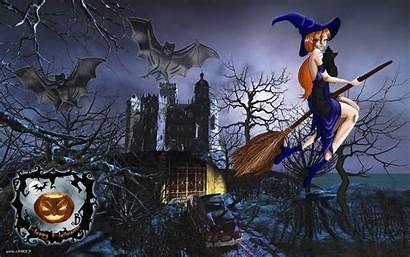 Witch Wallpapers Desktop Halloween Wallpapersafari