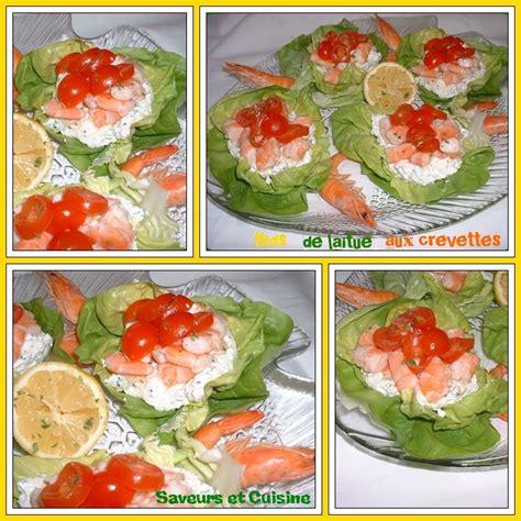 comment cuisiner des crevettes roses nids de laitue aux crevettes et fromage philadelphia pour une entrée pleine de fraîcheur pour