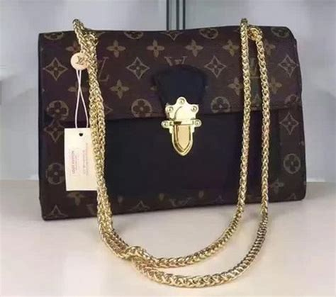 louis vuitton monogram canvas pallas chain bag