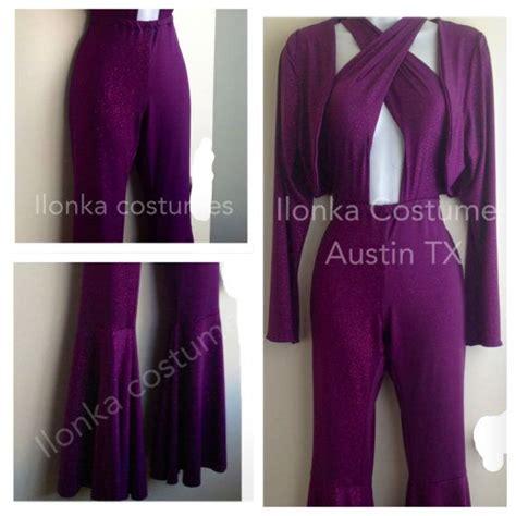 selena purple jumpsuit selena quintanilla purple criss cross jumpsuit with bolero