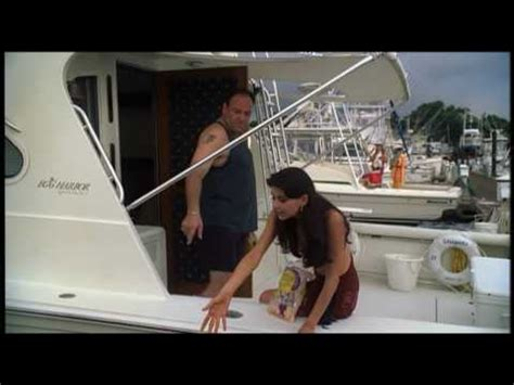 Stugots Boat Sopranos by The Sopranos Episode 18 Tony Grabs Russian Dude By The