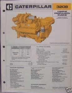 cat 3208 specs 1980 caterpillar 3208 marine diesel specification sheet