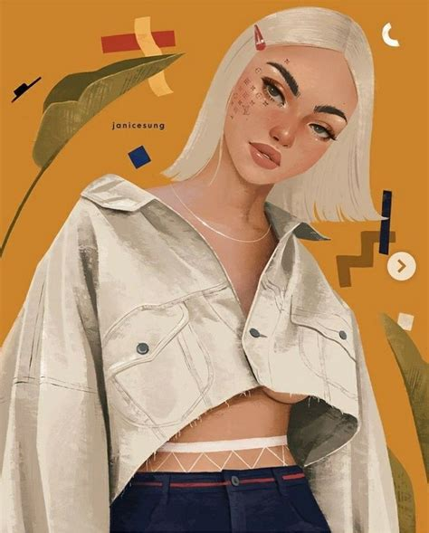 janice sung   illustration art fashion art art