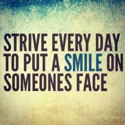 Make Someone Smile Quotes