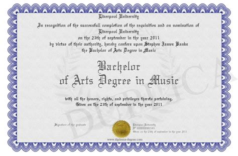 bachelor of arts degree in