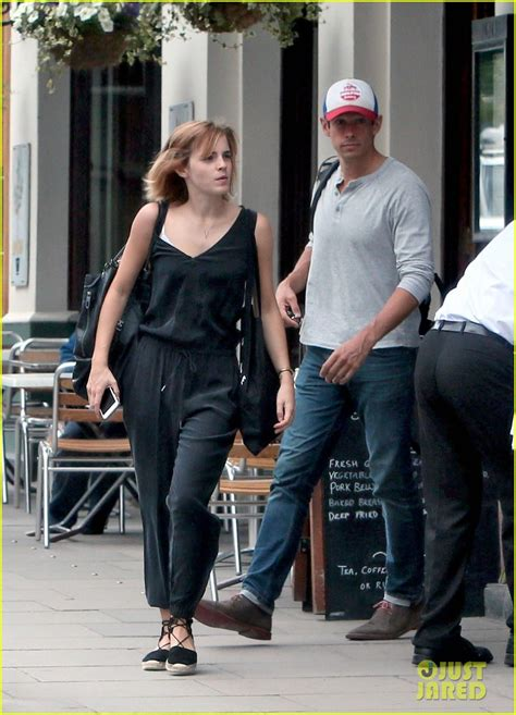 Emma Watson Steps Out London With Boyfriend Mack Knight
