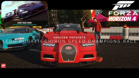 Forza horizon 4 featured an impressive 460 cars at launch, and today that insane selection spans beyond 720 vehicles. Forza Horizon 4-Lego Bugatti Chiron Speed Championship Race - YouTube
