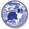 Border Collie - Dog Plate made in Denmark from the finest ...