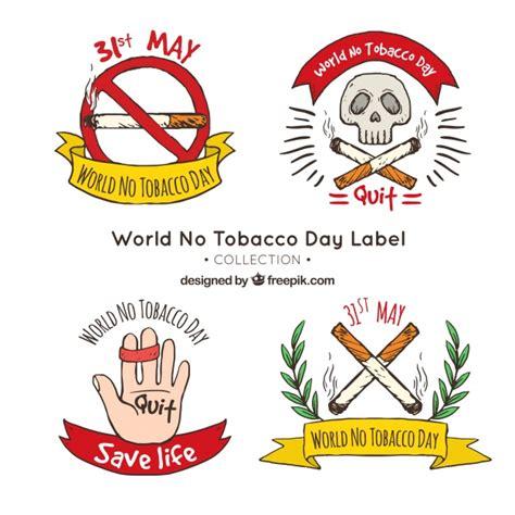 anti raucher farbe set anti raucher handgezeichneten aufklebern