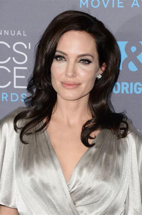 ANGELINA JOLIE at 2015 Critics Choice Movie Awards in Los ...