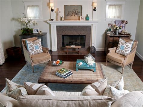 livingroom decor coastal living room ideas living room and dining room decorating ideas and design hgtv
