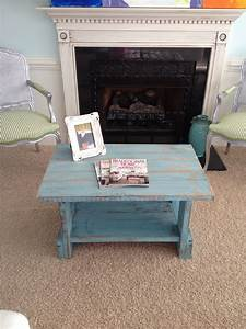 turquoise distressed coffee table for sale 150 our With distressed coffee table for sale