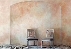 Mauer Wand Wohnzimmer : schritt f r schritt wand lasieren mit pigmenten ~ Lizthompson.info Haus und Dekorationen